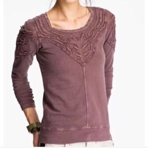 Free People Barton Springs Embroided Thermal